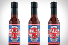 We love us some Dale's, so of course we're jazzed to spice up our next meal with some Dale's Pale Ale Hot Sauce. This chipotle-based sauce is infused with the hoppy deliciousness of Dale's Pale Ale, giving the already smoky flavor some added kick. If it's anything like the beer, use with caution, lest you end up eating every last bite of anything you sprinkle it on.