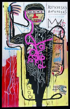 Veresus Medici (1982), Jean-Michel Basquiat one of the best ever artists in my opinion!!sw