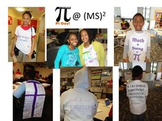 """""""Math + Swag = Pi!"""" Happy Pi Day! Love the kids of http://www.twitter.com/startupmiddle!"""
