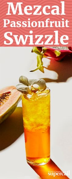 This cocktail takes passion fruit out of its familiar tiki zone, pairing it with smoky mezcal instead of the usual rum. The result is something with greater width—it's brighter, funkier and earthier.