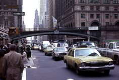 New York City 1979: Outside Grand Central Station. By Terry from Sydney.