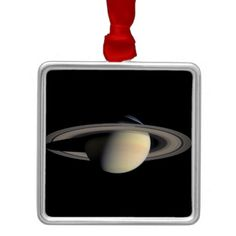 Saturn planet with rings around it