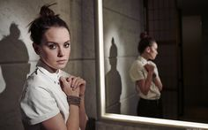 Daisy Ridley, Hollywood, english actress, beauty, brunette