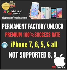 SAMSUNG OFFICIAL ATT AT/&T PREMIUM FACTORY UNLOCK CODE ALL MODELS AND NOTE 9