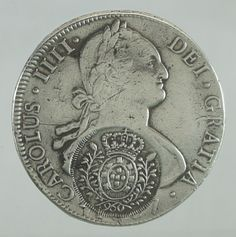 BRASIL colônia, moeda de prata, 960 Réis, carimbo de Mi.. Coins Worth Money, Foreign Coins, Coin Worth, World Coins, Rare Coins, Coin Collecting, Silver Coins, Fountain Pen, Stamp