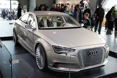 The Audi A3 e-tron is an A3 Hybrid Concept which features updated looks including a new saloon like body.    Visit M25 Audi: www.m25audi.co.uk