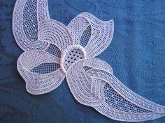 Needle lace. Ombretta Panese