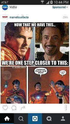 Ironman and Dr.Strange