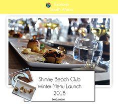 Shimmy Beach Club Winter Menu 2018 · Bee Du Jour