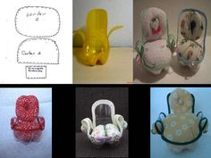 DIY - Miniature Cute Plastic Bottle Chair for Dollhouse