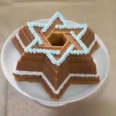 Star of David Bundt Pan.. FINALLY!! Now where is my blue frosting?
