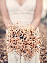 Dried Flowers: Dried flowers are a great way to make use of fresh flowers long after theyre past their prime. If you had flowers at your engagement party or bridal shower consider saving them for your walk down the aisle. And its eco-friendly! Rustic Bouquet, Rustic Flowers, Unique Flowers, Colorful Flowers, Yellow Wedding Flowers, Flowers In Hair, Dried Flowers, Fresh Flowers, Cheap Wedding Flowers