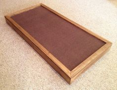2'x4' or 2'x2' Sound Absorption Acoustic Panel Chocolate