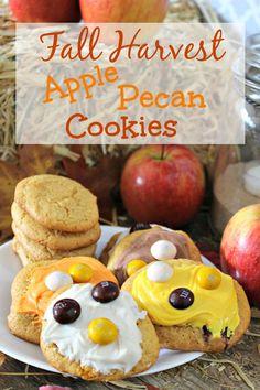 Fall Harvest Apple Pecan Cookies Recipe