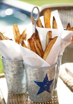 Don't forget the french fries! #potterybarn