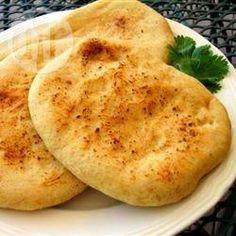 Authentiek naanbrood