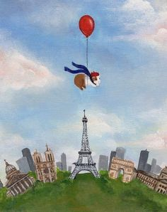guinea pig over paris