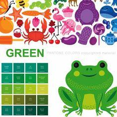 pantone colors childrens book illustrated by helen dardik - Pms Color Book