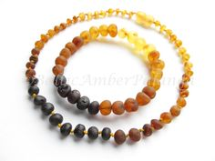 Raw Unpolished Baltic Amber Set For Baby and Mommy Rainbow Color Rounded Beads Handmade Jewelry, Unique Jewelry, Handmade Gifts, Amber Teething, Baltic Amber, Round Beads, Rainbow Colors, Bees, Beaded Necklace