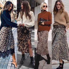 Cool Ways To Style A Leopard Satin Skirt: wearing a white t-shirt, a leopard skirt, nude sandals, a black shoulder bag and black aviator sunglasses. Printed Skirt Outfit, Leopard Skirt Outfit, Leopard Print Skirt, Printed Skirts, Leopard Print Outfits, Midi Skirt Outfit, Animal Print Skirt, Autumn Skirt Outfit, Animal Print Outfits
