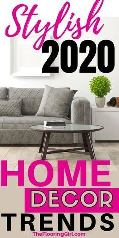 2020 Interior decorating styles - 20 stylish and growing trends for your home. Practical home decor advice that will last for years to come. Home Decor Trends, Home Decor Styles, Diy Home Decor, Room Decor, Decor Ideas, Interior Decorating Styles, Home Interior Design, Flat Interior, Natural Interior