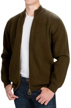Barbour Sporting Sweater - Lambswool (For Men)