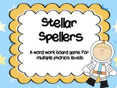 Word work games- great for using with Words their Way and the Daily Five