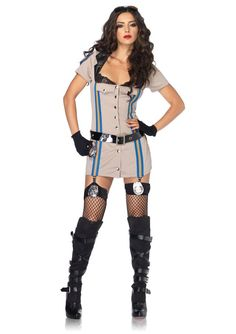 Share to win a free gift! Highway Patrol Honey Large - Costume #galaxorstore $17.90