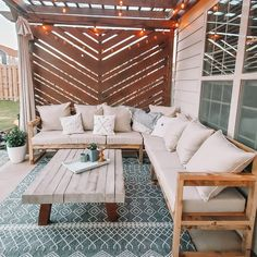 Cabana, Privacy Walls, Privacy Wall On Deck, Outdoor Spaces, Outdoor Living, Decks, Privacy Screen Outdoor, Backyard Patio Designs, Back Patio