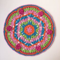 Vintage Petals Mandala: I love thee!!  Fab design: @mobiusgirl by marretjeroos