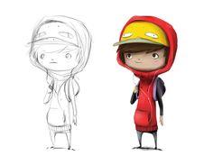 Kid character design