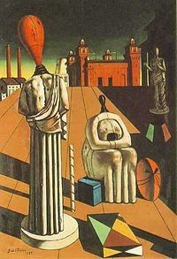 Important art by Giorgio De Chirico with artwork analysis, influences, achievement, and overall contribution to the arts. Paintings Famous, Modern Art Paintings, Museum Of Modern Art, Art Museum, Renaissance, Toledo Museum Of Art, Surrealism Painting, Art Story, Italian Artist