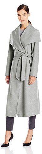 Mackage Women's Mai Doubleface Wool Belted Wrap Coat