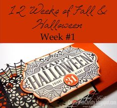 Stampin' Up! Square Pillow Box Thinlits & Witches' Night - Free tutorial on how to make this Extra Large Halloween Pillow Box is included - Create With Christy: 12 Weeks of Fall & Halloween - Week #1 - Christy Fulk, Stampin' Up! Demo
