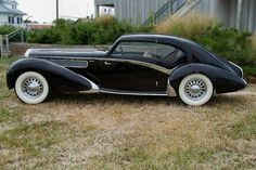 1938 Delage Aero Sport Coupe by Marcus Frank - au·to·mo·bile Austin Martin, Auto Gif, Art Deco Car, Bmw Autos, Auto Retro, Unique Cars, Sweet Cars, Amazing Cars, Awesome