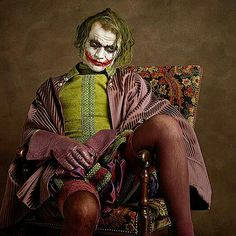 How would superheroes have looked in the 16th century renaissance period! French photographer Sacha Goldberger has created a quirky photo series that perfectly expresses the timeless quality of some of our favorite superheroes and villains – by re-imagining them as 16th-century Flemish portrait models.  Joker