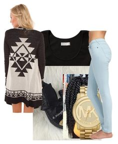 """""""Untitled #2238"""" by itzmealisia ❤ liked on Polyvore featuring Abercrombie & Fitch, Michael Kors and Jack Wills"""