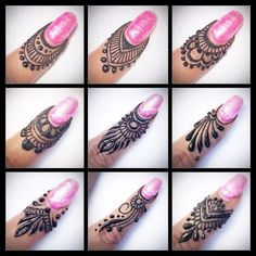 Beautiful Mehndi Design - Browse thousand of beautiful mehndi desings for your hands and feet. Here you will be find best mehndi design for every place and occastion. Quickly save your favorite Mehendi design images and pictures on the HappyShappy app. Finger Henna Designs, Simple Arabic Mehndi Designs, Henna Art Designs, Mehndi Designs For Girls, Mehndi Designs For Beginners, Mehndi Designs For Fingers, Modern Mehndi Designs, Mehndi Design Pictures, Beautiful Henna Designs