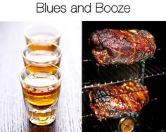 We're celebrating America's 3 best inventions: #BBQ and #bourbon and the #blues