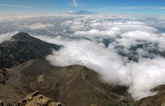 Mt. Kilimanjaro view from Mt. Meru