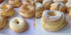 Žloutkové věnečky - Víkendové pečení Oreo Cupcakes, Doughnut, Tea Time, Cheesecake, Food And Drink, Sweets, Recipes, Blog, Kuchen