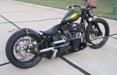 Harley Davidson By Main Drive Cycle    ♠ http://hellkustom.blogspot.com/ ♠