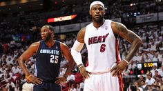 Al Jefferson Injury Gives #Heat Easy Game 1 Win Over Charlotte #Bobcats. #NBAPlayoffs #NBA