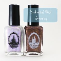 Will Paint Nails for Food: Enchanted Polish Giveaway!