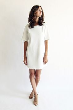 brass clothing a-line dress