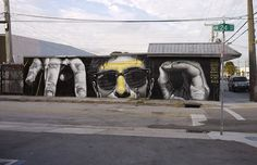 Street Artist MTO Painted This Hyperreal Mural for Art Basel Miami Beach 2013