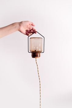 I love this tiny little lamp/bulb-of-a-thing?  Don't know what in the world you would do with it, but I love it all the same.