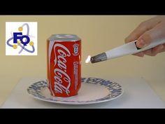 ▶ Una lata que se calienta y da saltitos - YouTube