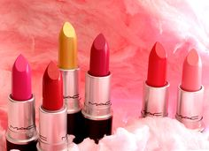 The MAC Playland Lipsticks, April 2014