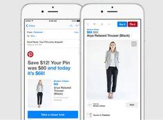 O Pinterest está lançando um recurso que promete melhorar a experiência de compras dentro da rede social. Agora será possível guardar um pin comprável e ser notificado quando o seu preço for alterado.